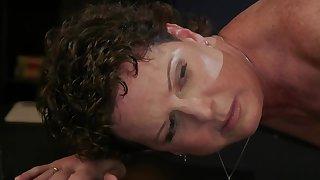 Cougar lesbian fucked by ebony lezdom